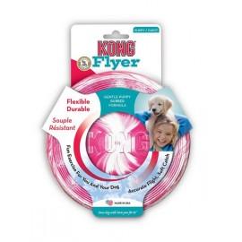 Frisbee Kong Puppy - růžový - doprodej