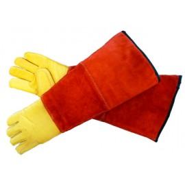 odchytové a manipulační rukavice