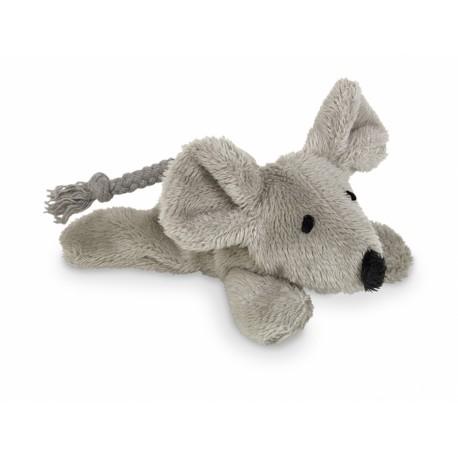 Nobby plyšová myš s šustivým tělem 9 cm