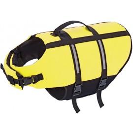 Nobby Elen záchranná plovací vesta pro psa neon žlutá