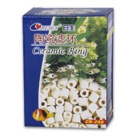 Keramické kroužky CR - keramická náplň do filtru 1kg - doprodej