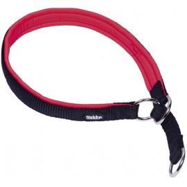 Nobby CLASSIC PRENO polostahovací obojek polstrovaný červená