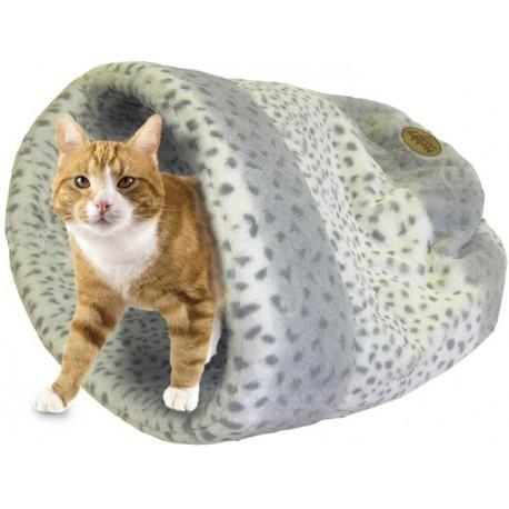 Nobby ALANIS spací pytel pro kočky a malé psy šedá 45x48cm