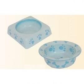 Keramická miska hranatá modrá 23cm - doprodej