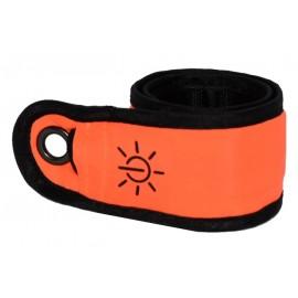 Nobby svítící nylonový pásek neon oranžová 35 cm