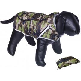 Nobby Rainy maskáčová reflexní pláštěnka pro psa