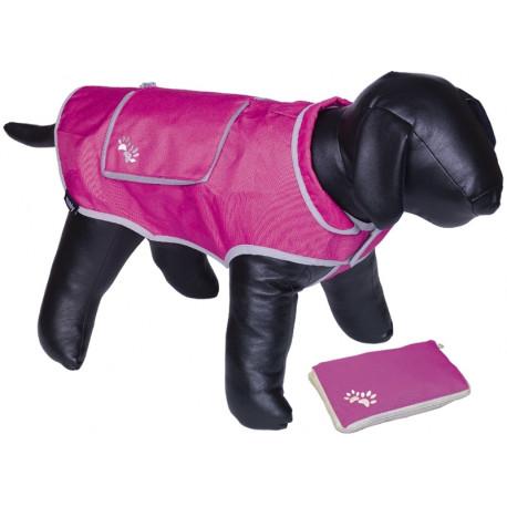 Nobby reflexní nepromokavá vesta BANAT pro psa růžová