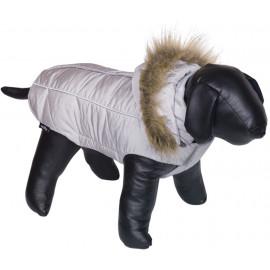 Nobby obleček pro psa ARTIC šedá s kožíškem