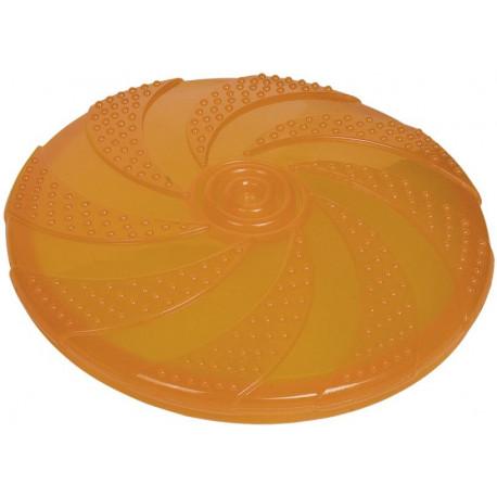 Nobby gumová hračka pro psa frisbee oranžové 18,5 cm