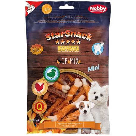 Nobby StarSnack BBQ Mini Top Mix pamlsky pro malé psy 180g