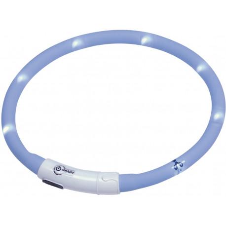 Nobby Led Puppy svítící kroužek silikon 45cm