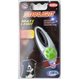 Starlight Multi Light blikající přívěšek transparentní 1ks