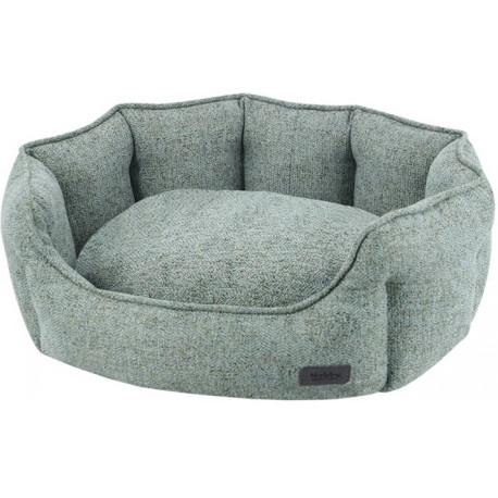 Nobby NEVIS komfortní oválný pelíšek zeleno-šedý