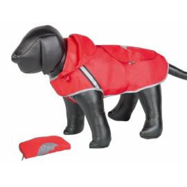 Nobby Rainy červená reflexní pláštěnka pro psa