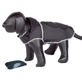 Nobby Rainy černá reflexní pláštěnka pro psa