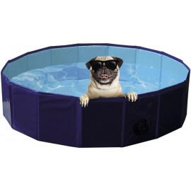 Nobby bazén pro psa skládací modrý