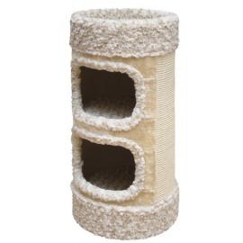 Nobby LITTLE LAZY škrábací válec pro kočky kudrnatá béžová 72cm