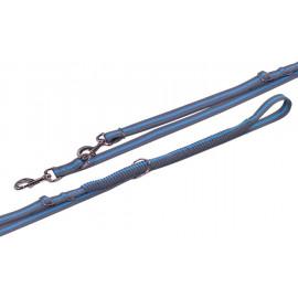 Nobby VARIADO vodítko s amortizérem 210-240cm modrá