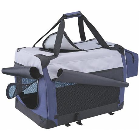 Nobby Traveller Plus S nylonový box kennelka pro psy