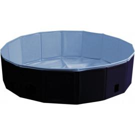 Nobby bazén pro psa skládací modrý s krytem