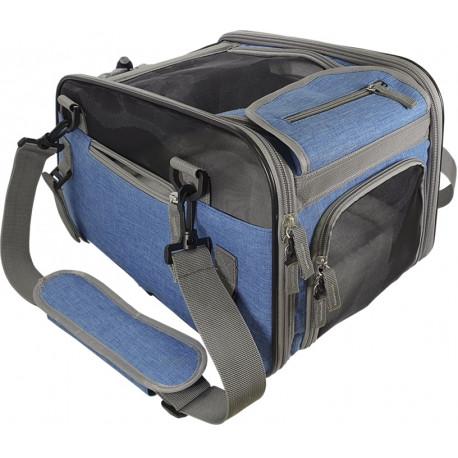 Nobby taška na kolo TOUR kočka / pes do 8 kg modrá