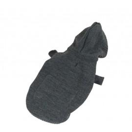 Svetr šedý s kapsou 25 cm- doprodej