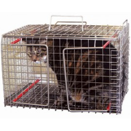 Fixační klec na kočky nerez