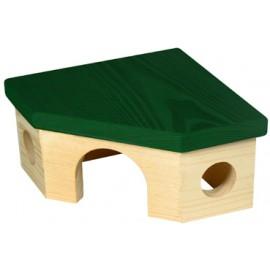 Domek rohový pro křečka - doprodej