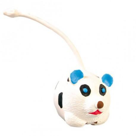 Latexová zvířátka s ocáskem 6 cm