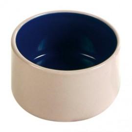 Keramická miska s glazurou 100ml/7cm - béžovo/modrá TRIXIE
