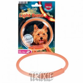 Obojek blikající Light Band - doprodej